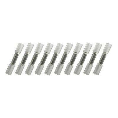 Kabelschoenen Met Krimpkous Waterdicht Wit (0.2-0.5mm) 100 Stuks