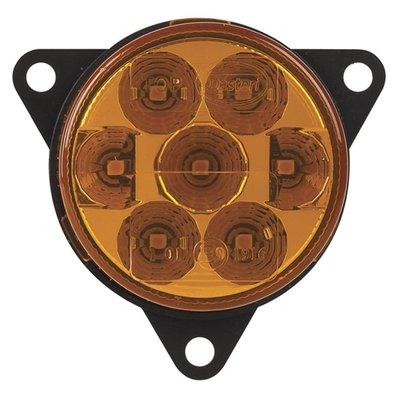 LED richtingaanwijzer voorkant rond Oranje Lens