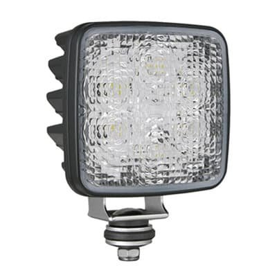 Wesem LED Achteruitrijlamp CRK2-AR Vierkant ECE Kabel