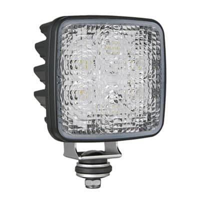 Wesem LED Achteruitrijlamp CRK2-AR Vierkant ECE Deutsch-DT