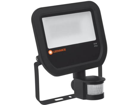 50W LED Bouwlamp 230V + Sensor