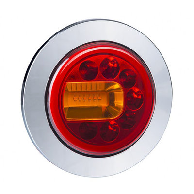 Horpol LED Achterlicht Links Chrome LUNA LZD 2448