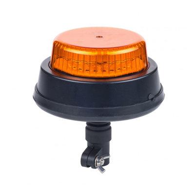 Horpol LED Flitslamp DIN-Steun Oranje LDO-2665/F