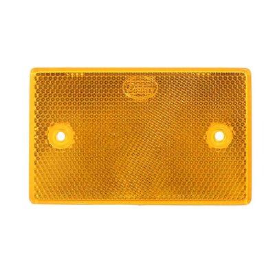 Reflector Rechthoekig 6,5x10,5mm Oranje