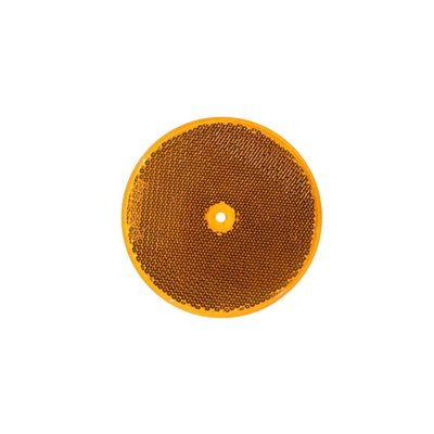 Reflector rond 85mm Oranje