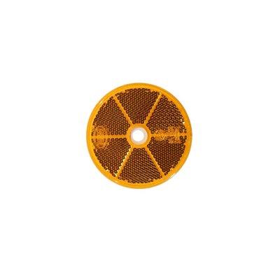 Reflector Rond Ø60mm Oranje