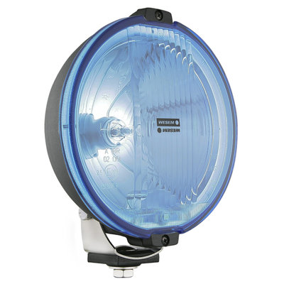 Wesem HOS2 Halogeen Verstraler Blauw LED Ring + 12V Lampjes