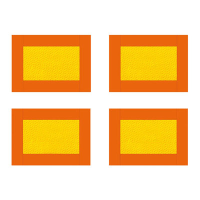 Set 4 Stuks Markeringsborden Oplegger/Aanhanger 280x200mm