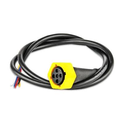 Kabel 5-Polige Bajonet Connector Geel 1 Meter