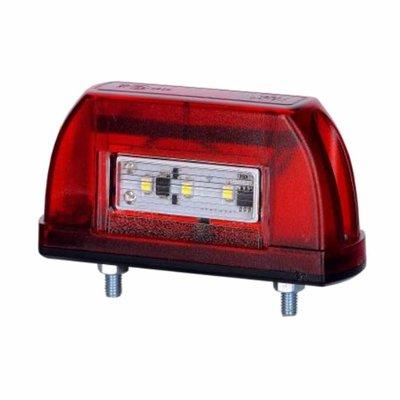 Horpol LED Kentekenverlichting 12-24V Rood LTD 669