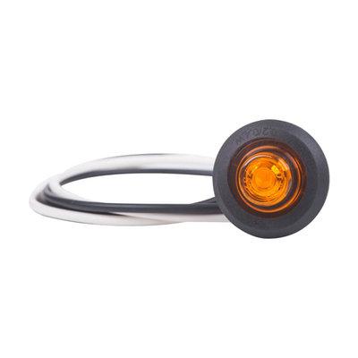 Horpol LED Positielicht Oranje Rond Ø28mm Inbouw LD-2629