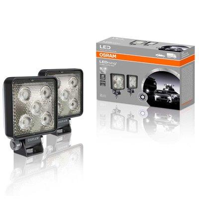Osram Mini LED Werklamp Vierkant VX70-WD 2 stuks