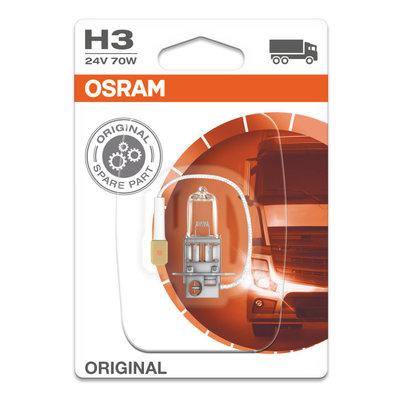 Osram Halogeen lamp 24V Original Line H3, PK22s