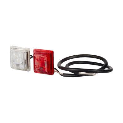 Horpol LED Breedtelamp Unit Vierkant 12-24V LD 448