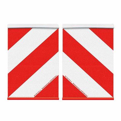 Set Markeringsborden Brede Lading Links + Rechts