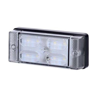 Horpol LED Achteruitrijlamp Compact LCD 657