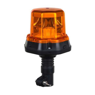 Horpol LED Flitslamp DIN-Steun Oranje LDO-2276