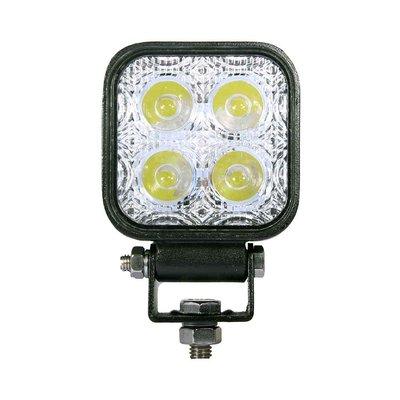 12W LED Werklamp Vierkant Basis