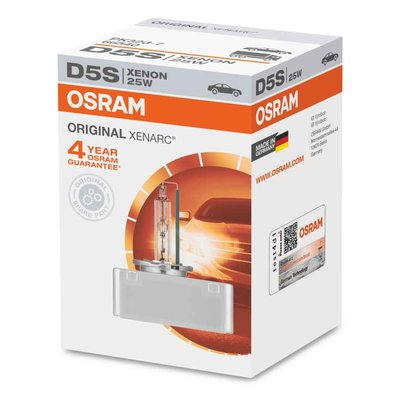 Osram D5S Xenon Lamp Original Line 25W P32d-7