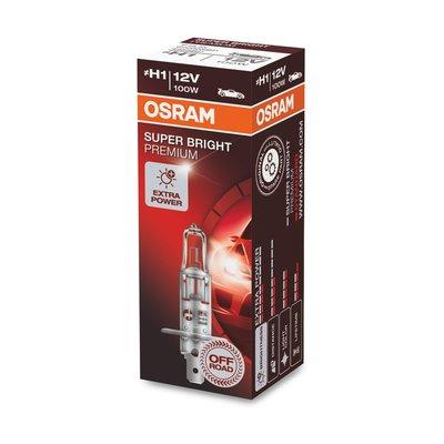 Osram H1 Halogeenlamp 12V 100W Super Bright Premium P14.5s