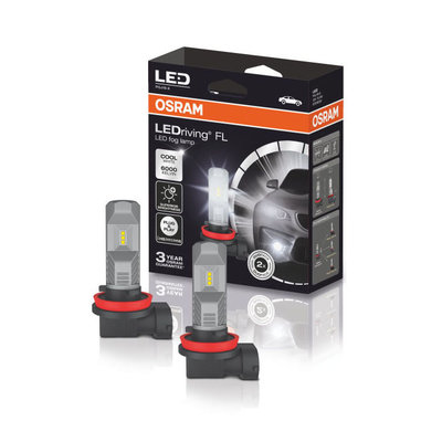 Osram H8/H11/H16 LED Mistlamp Set 12 volt
