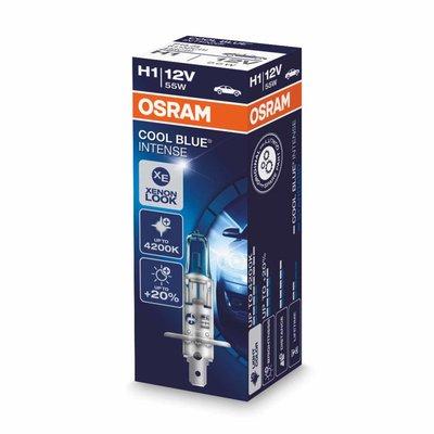 Osram H1 Halogeenlamp 12V 55W P14.5s Cool Blue Intense