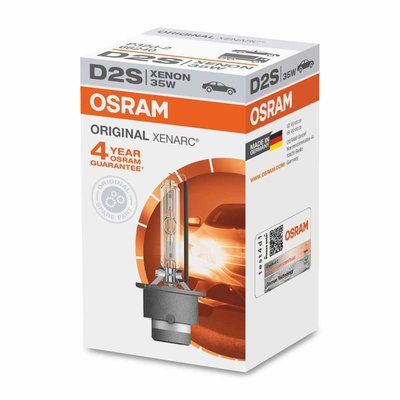Osram D2S Xenon Lamp Original Line 35W P32d-2