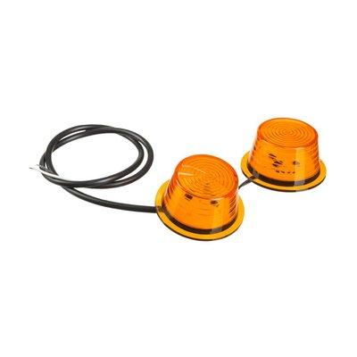Horpol Deense LED Breedtelamp Units oranje 2 Stuks