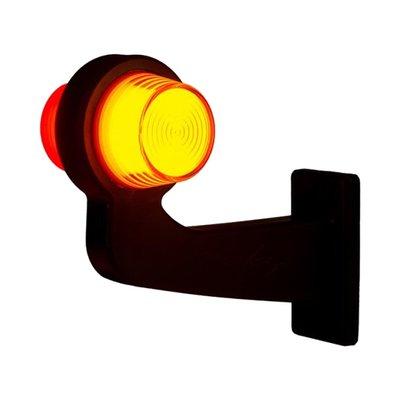 Horpol LED Breedtelamp 12-24V Oranje-Rood NEON Look Rechts LD 2626