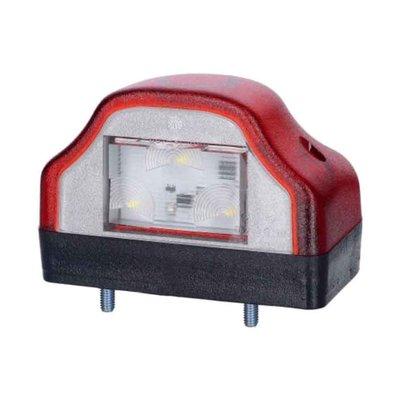 Horpol LED Kentekenverlichting 12-24V Rood LTD 232