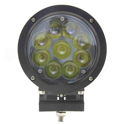 45W LED Verstraler Zwart