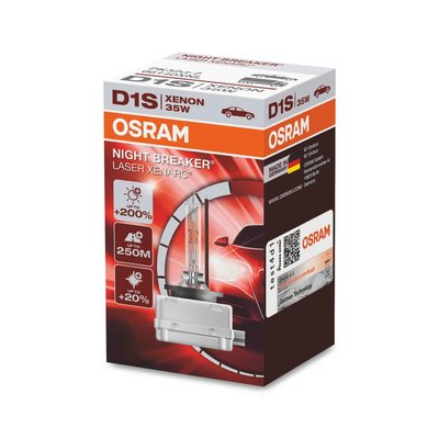 Osram D1S Xenon Lamp 35W Night Breaker Laser PK32d-2