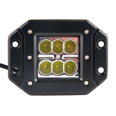 18W LED inbouw breedstraler