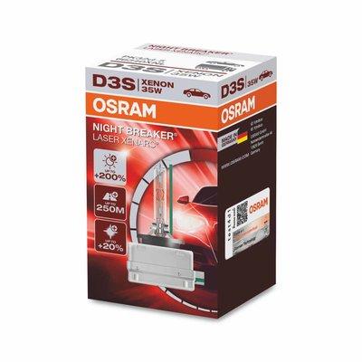 Osram D3S Xenon Lamp 35W Night Breaker Laser PK32d-5