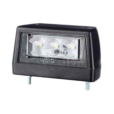 Horpol LED Kentekenverlichting 12-24V Zwart LTD 2110