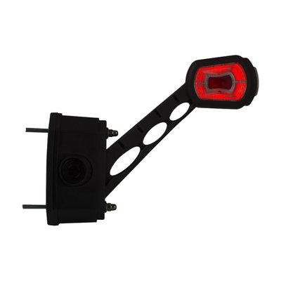 Horpol LED Breedtelamp + Sensor 12-24V 3-Functies Rechts LD 2714