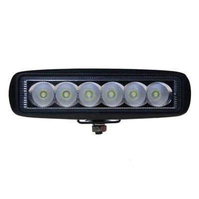 18W LED Breedstraler Rechthoekig Basis