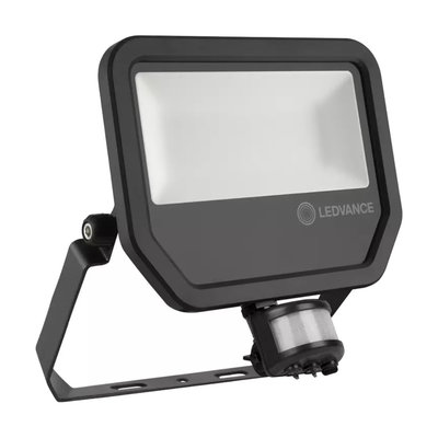 50W LED Bouwlamp 230V + Sensor 4000K