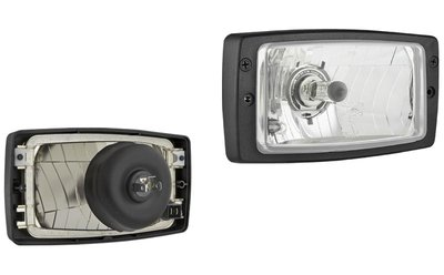 Koplamp H4 184x102x99mm + Frame