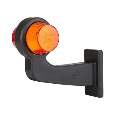 Horpol LED Breedtelamp 12-24V Oranje-Rood Rechts LD 2621