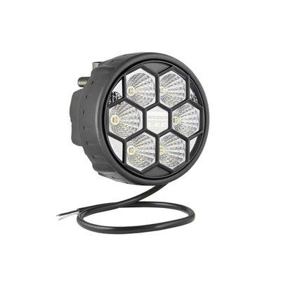 LED Werklamp Breedstraler 2500LM Achterkant Montage + Kabel