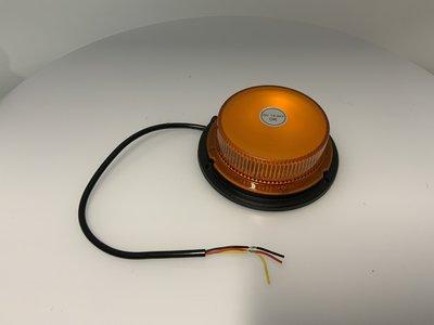 LED Zwaailamp Oranje Plat 12-24V 832X