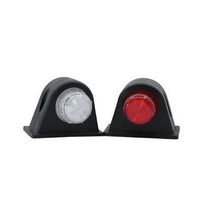 Set LED Breedtelampen 10-30V Rood + Wit (Set)