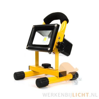 Oplaadbare 10W led bouwlamp