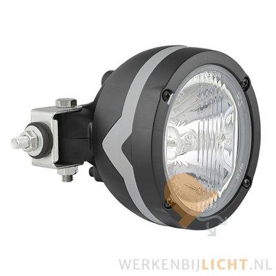 Werklamp Halogeen Rond H3 zijbevestiging