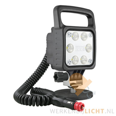 Wesem 29W 6° werklamp magneetvoet