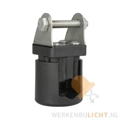 Werklampklem Ø15-28mm