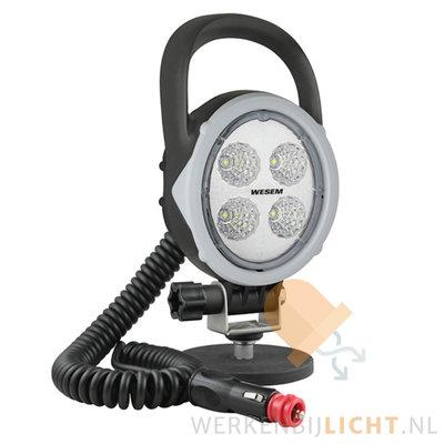 Wesem 18W 60° werklamp magneetvoet