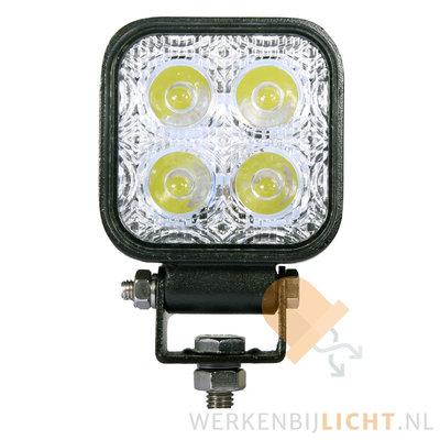 12 watt werklamp vierkant