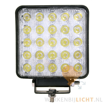 75 watt werklamp vierkant